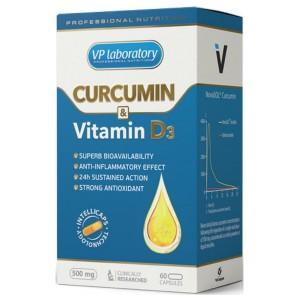 Curcumin & Vitamine D3 (60 кап)