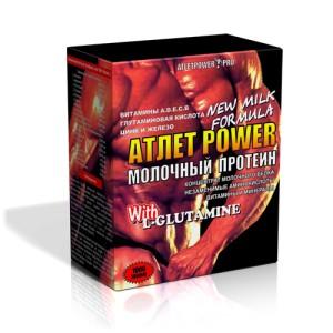 Atlet Power молочный протеин (1000 г)