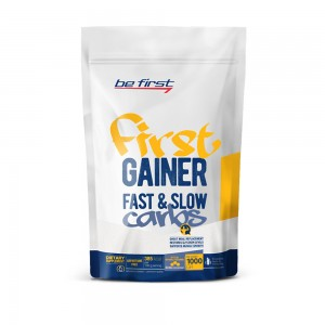 First Gainer Fast & Slow Carbs (1000 г)