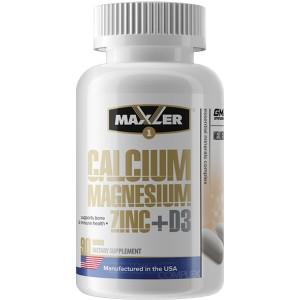 Calcium Zinc Magnesium + D3 (90 таб)