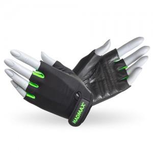 Перчатки Rainbow MFG-251 черно-зеленые