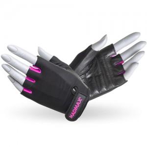 Перчатки Rainbow MFG-251 черно-розовые