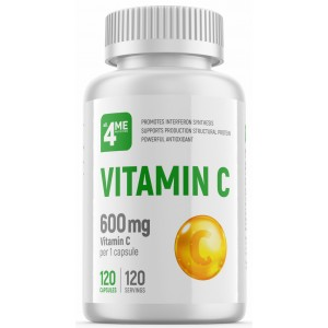 Vitamin C 600 mg (120 кап)