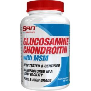 Glucosamine & Chondroitin + MSM (90 таб)
